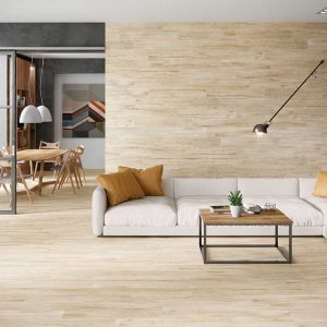 Oakland Beige Wood Effect Porcelain Tiles