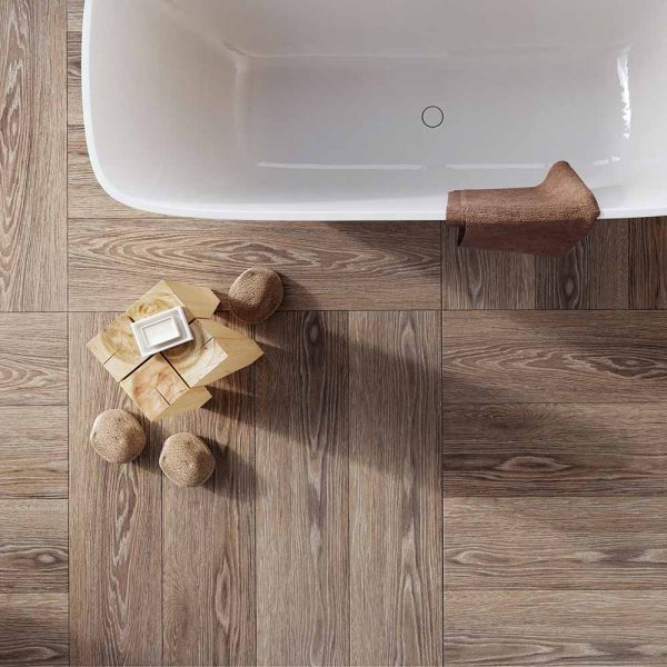 Whistlewood Brown Porcelain Tiles