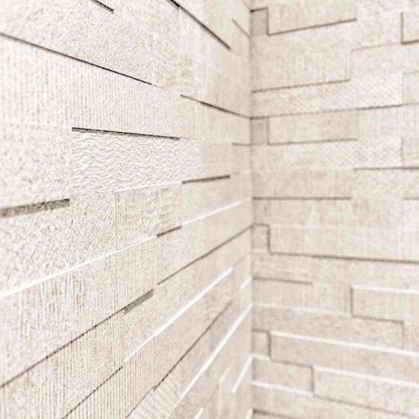 Cityscape Bianco Brick Mosaic