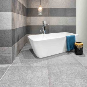 Cityscape Smoke Porcelain Tiles