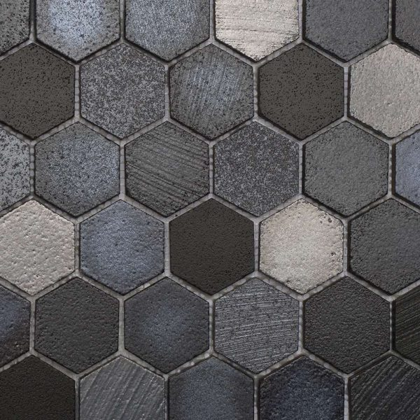 Lava Maskali Hexagonal Mosaic Wall Tiles